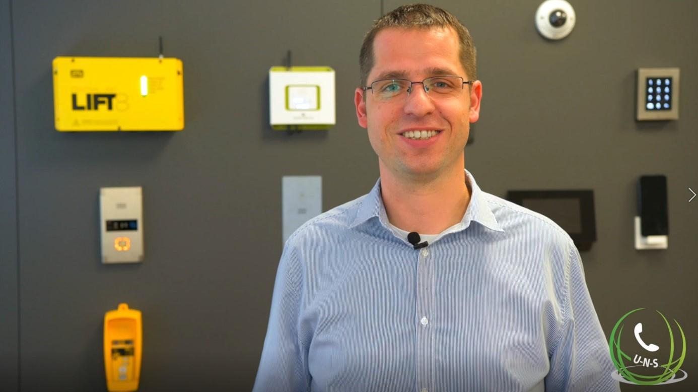 Jan Dobrovolsky von der Firma 2N